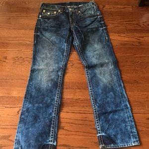 True Religion Men's denim jeans size 32- $35